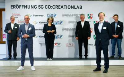 "Neue Ideen mit 5G:  ""5G Co:Creation Lab"" am TH Campus eröffnet"